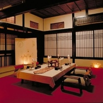 N 和室会食場 一例