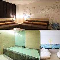 大型温泉浴槽付き/ファミリールーム/73平米/眺望なし/2~7名まで