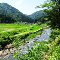 弥栄町の自然がいっぱいの村、野間地区を散策