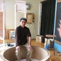 ヒカリ美術館 館長の「池田修造」さん