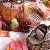 地魚のお造り