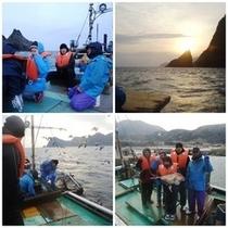 定置網漁体験