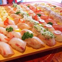 ピチピチにきり寿司体験