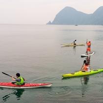 ジオカヌー体験をしてみませんか?海を爽快にジオカヌーで走ってみよう!