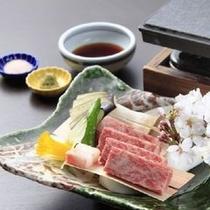 【別注料理も承っております】信州牛の石焼付き(要予約)