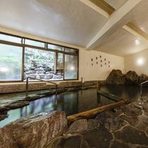 大浴場「岩風呂」