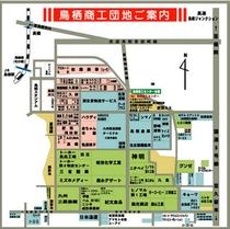 鳥栖商工団地地図