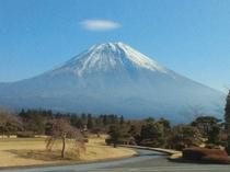 富士山12月