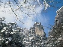 昇仙峡 冬