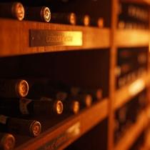 □ボーセジュールの誇る、専用ワインセラー