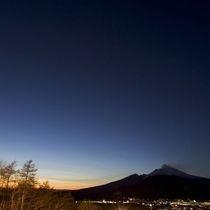 □自然のコントラストに圧巻~浅間山の夕暮れ