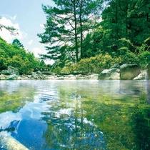 □浅間山麓に佇む千ヶ滝温泉  お車で平常時約15分