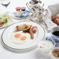 □ボーセジュール朝食 目玉焼き ~爽やかな高原の朝に~