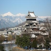 ◆冬の松本城