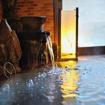 ◆男女別天然温泉大浴場(9階)