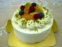 選べるケーキ:旬の果実のショートケーキ