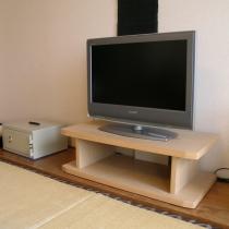 テレビと金庫
