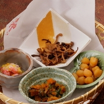 【夕食一例】前菜