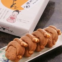 【お土産】みなかみ温泉のゆるキャラ「おいでちゃん」の人形焼