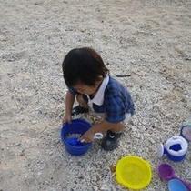 【ミキハウス子育て総研(株)認定】   ★ウェルカムベビーのお宿 砂遊びセット貸出しています。