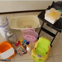赤ちゃん用貸出品