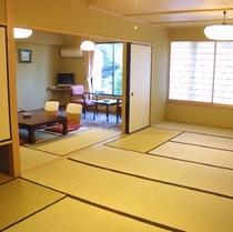 山側二間和室