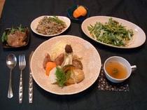 野菜を使った家庭料理