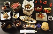 近江牛料理の一例