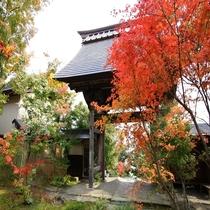 称念寺の紅葉