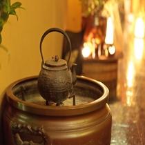火鉢とやかん