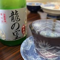 *地酒一例/当麻米を使用した日本酒など取り揃えております。