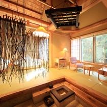 露天風呂付き離れ「糸トンボ」