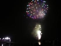 山中湖花火大会①