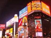 札幌の「夜」と言えば・・・すすきの♪:徒歩3分少々!