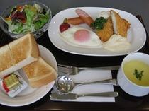 朝食洋食パンセット
