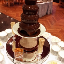 チョコレートファウンテン(イメージ)
