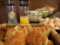 ホテル花の朝食(全体)