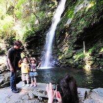 パワースポット「琵琶の滝」