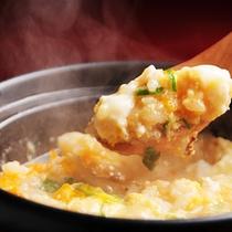 きじ鍋の雑炊