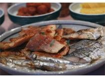 毎朝焼き立て焼き魚