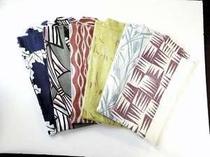 竹久夢二式の色浴衣