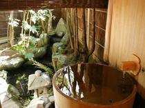 客室/麗雅の間(15号室)の露天風呂
