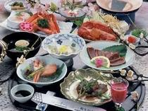 美味但馬懐石・日帰り昼食プラン用料理