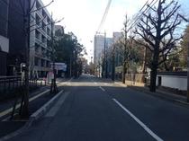 JR大分駅からホテル駐車場まで⑧