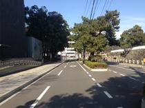 JR大分駅からホテル駐車場まで⑦