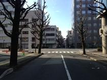 JR大分駅からホテル駐車場まで⑨