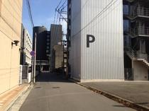 JR大分駅からホテル駐車場まで⑫