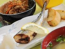 【朝食一例】焼魚