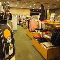 館内ロビー1階のショップ♪ゴルフグッズも揃う!