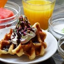 ◆朝食スウィーツ♪ワッフル